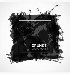 abstract background black grunge design elements vector image