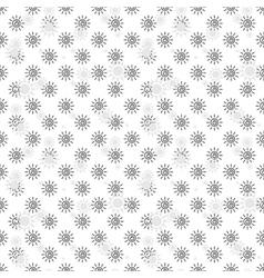 Abstract monochrome Sun Pattern vector image