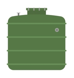 Barrel capacity tanks vector image