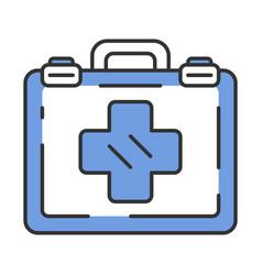 Emergency help color icon vector