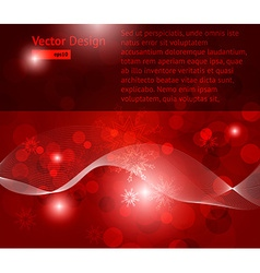 Festive Red Background vector