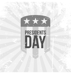 Presidents Day Label vector image