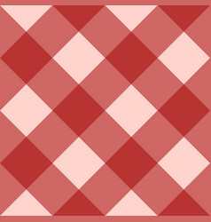 red checkered seamless background vector image