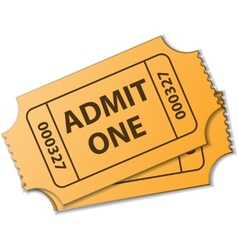 Tickets vector