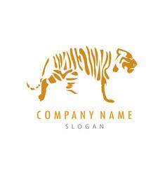 Tiger logo 2 vector