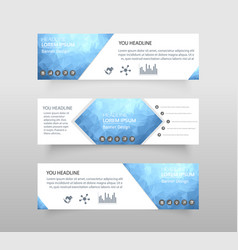 abstract geometric design banner web template web vector image