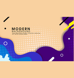abstract trendy modern background vector image