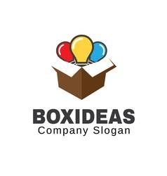 Box Ideas Design vector image