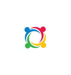 Community care icon vector