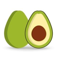 Fruit healthy organic food design vector