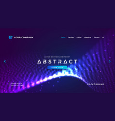 Futuristic and technology websites background vector