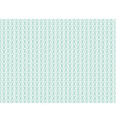 knitted fabric seamless pattern light blue white vector image