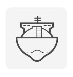 tanker oil gas vector image
