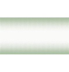 Halftone background with pastel green color vector image vector image