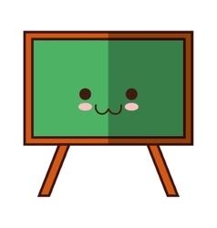 isolated school blackboard vector image vector image