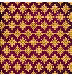 Background Purple yellow Thai pattern vector