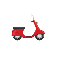 Delivery motorbike logo icon scooter bike vector