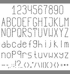 Font vector