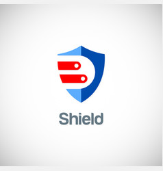 shield data guard logo vector image