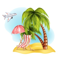 Vacation vector image
