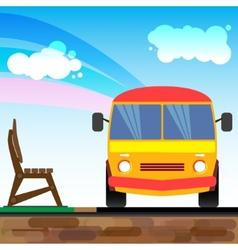 Bus1 vector image vector image