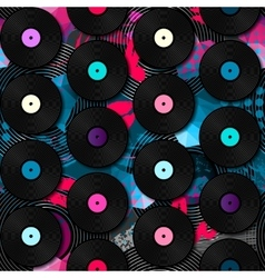 Disco abstract pattern vector image