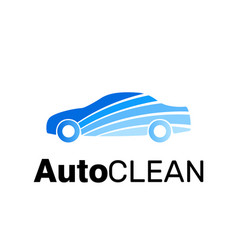 car clean logo brand identity carwash icon vector image