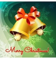 Christmas jingle bells vector image