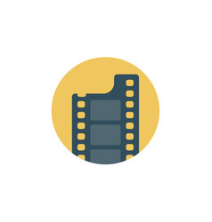 film reel icon sign symbol vector image