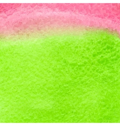 Green and red watercolor squarer background vector