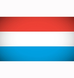 national flag luxembourg vector image
