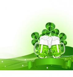 St Patrick's day celebration vector