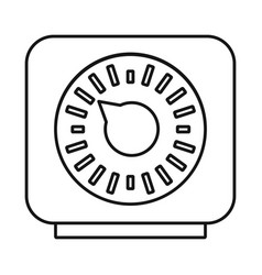 Timer and technology logo vector