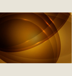 wave orange color abstract background with copy vector image
