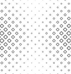 Abstract black square pattern design vector image vector image