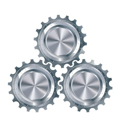 Cog Gears Mechanism vector image