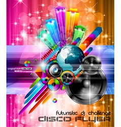 Music Club Posters vector image vector image