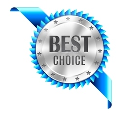 Best Choice Award vector image
