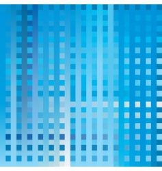 blue structure vector image
