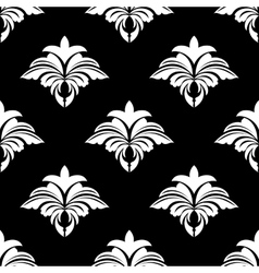 Classic retro seamless floral pattern vector