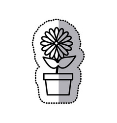 Flowers icon stock image vector