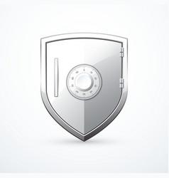 shield safe icon vector image