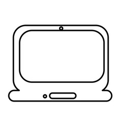 Technology laptop service icon vector
