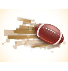 Rugby background vector image vector image