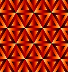 Optical with triangles vector image