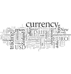 Do you know your currency pairs vector