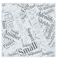Security measures for small businesses word cloud vector