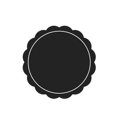 shields collection black silhouette shield shape vector image