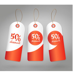 shop sale label price percentage discount isolated vector image