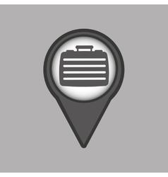 Travel concept location map portfolio design vector